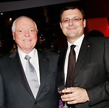 Die beiden Vertreter der Familie. Philippe und Thierry Stern. (Bild: patek.com)